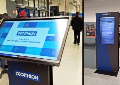 Decathlon – Interactive Totem