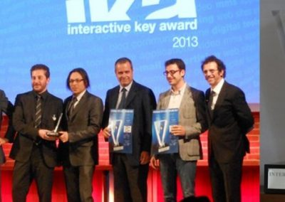 INTERACTIVE KEY AWARD 2013