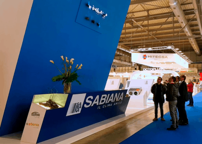 Sabiana – MCE 2018 – Holographic Fan Wall