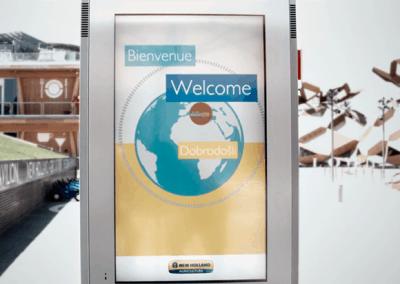 New Holland @EXPO2015 – Infototem
